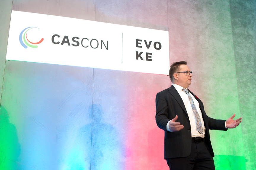 speaker Cascon x Evoke Conference 2019 Corporate Event Photography