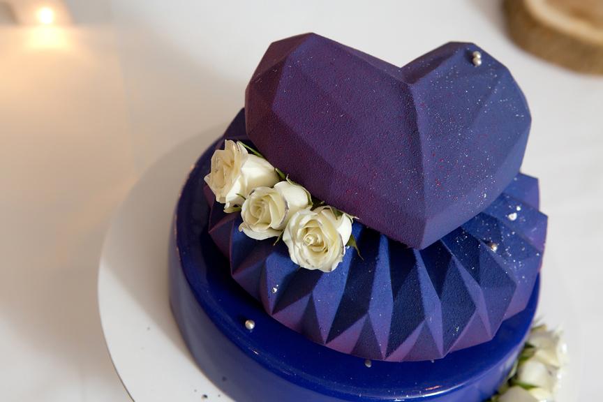 cake decor wedding reception at Cambridge Mill