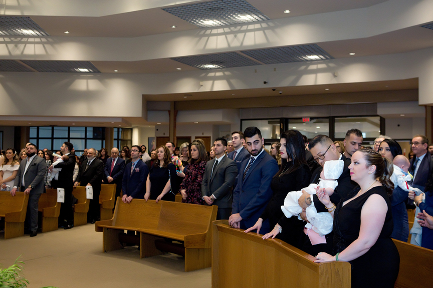 Milestone Event Photography Baptism at St Peter's Roman Catholic Church