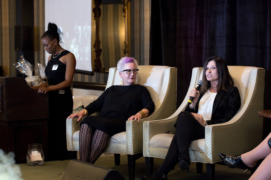 panel Women In Leadership Awards Gala Corporate Event Photography
