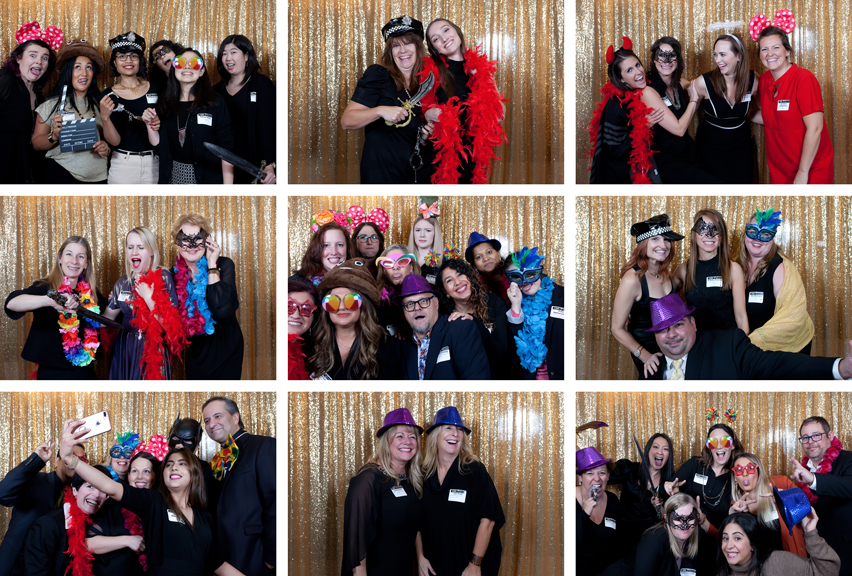 photo booth Women In Leadership Awards Gala