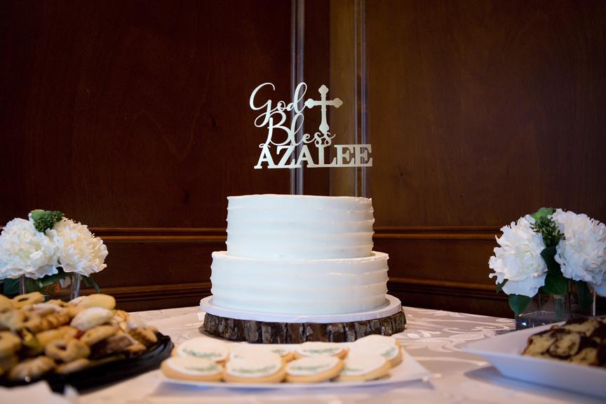 Baptism party at Royal Ambassador cake
