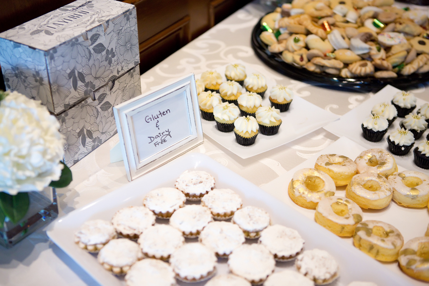 Baptism party at Royal Ambassador sweets table