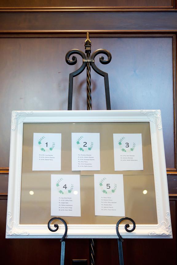 Baptism party at Royal Ambassador seating chart