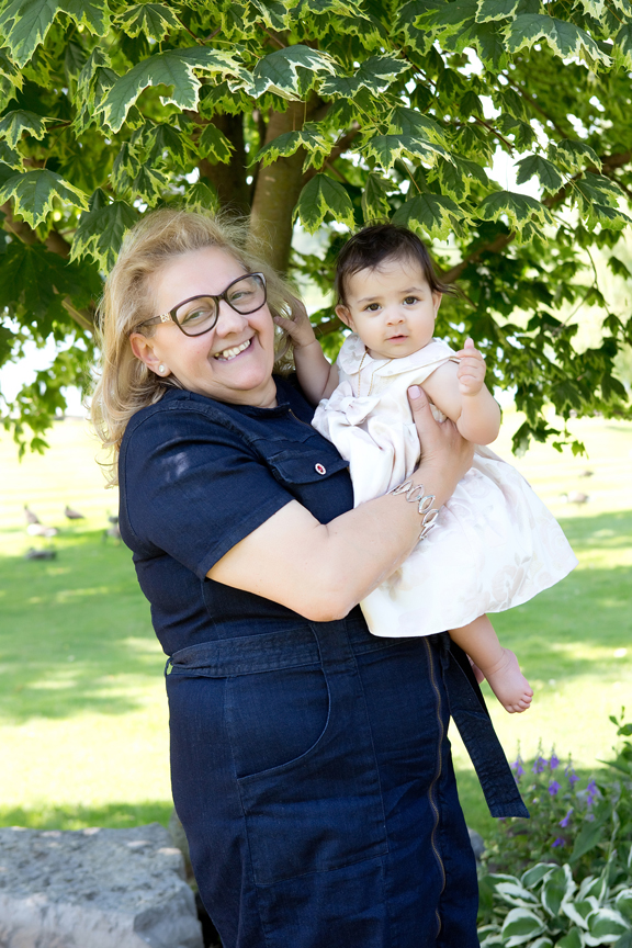 Milestone Event Photography Baptism at Royal Ambassador baby with grandma