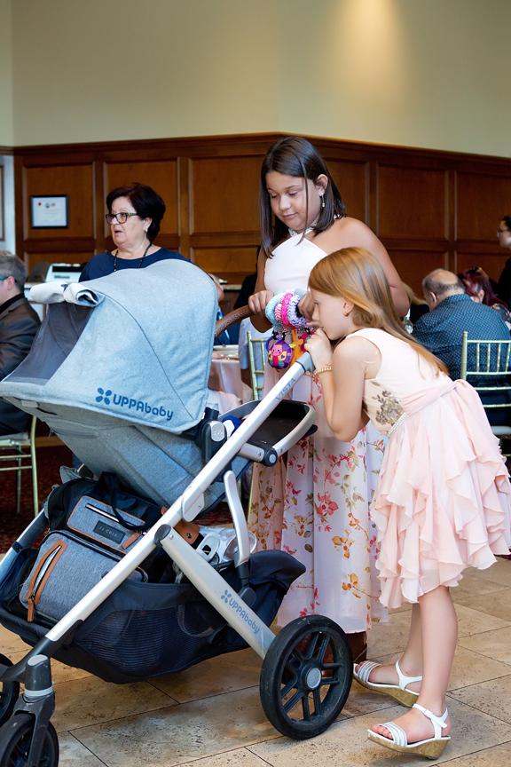 Baptism party at Royal Ambassador baby with guests