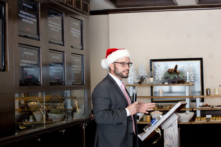 speech Kenilworth Media Holiday Party Corporate Event Photography