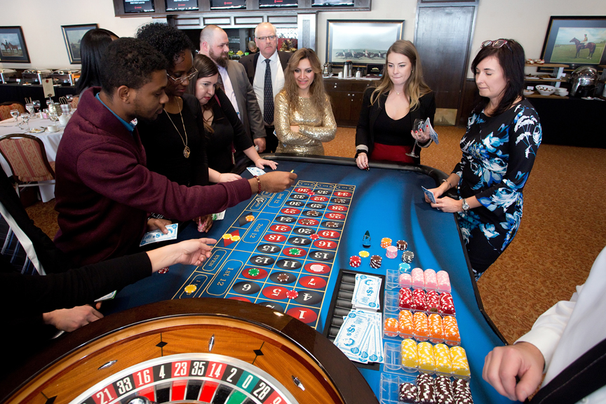 gambling Kenilworth Media Holiday Party Corporate Event Photography