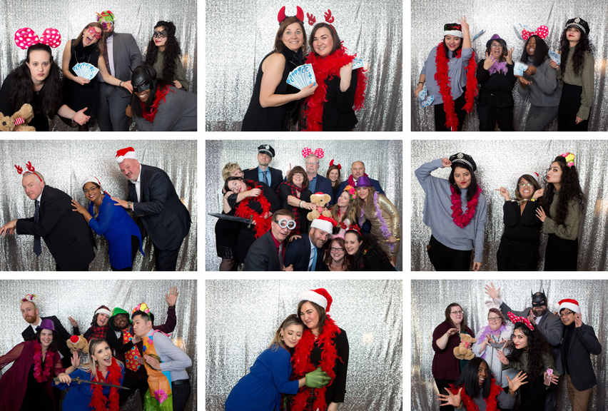 photo booth Kenilworth Media Holiday Party Corporate Event Photography