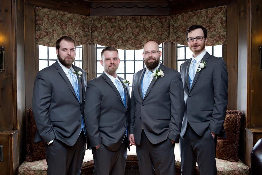 groom prep wedding groomsmen