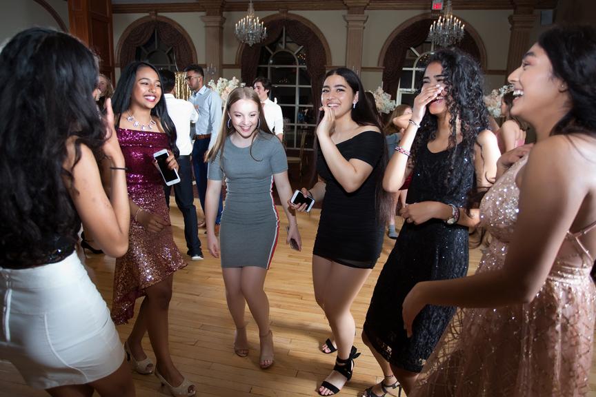 Sweet Sixteen Birthday party at Royal Ambassador dance party