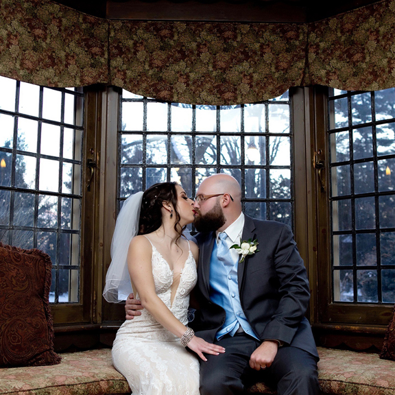 Paletta Mansion wedding portrait couple