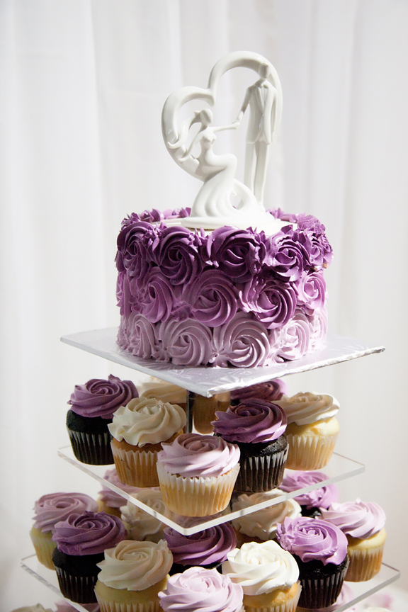 wedding cake decor