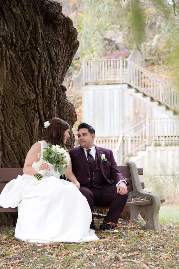 wedding portrait at Fantasy Farm