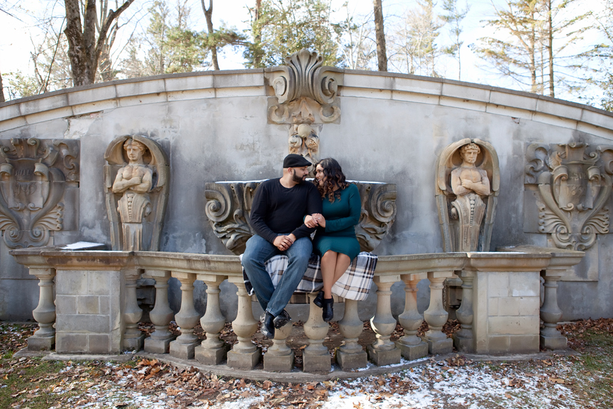 engagement photos at Guild Inn Estate