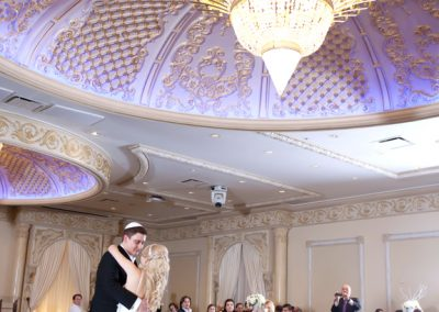 wedding reception at Paradise Banquet Hall