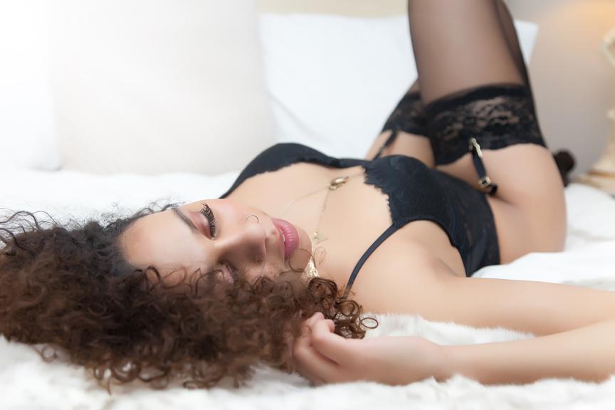 lingerie portrait