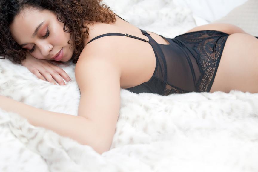 boudoir session