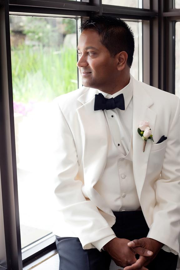 wedding portrait groom