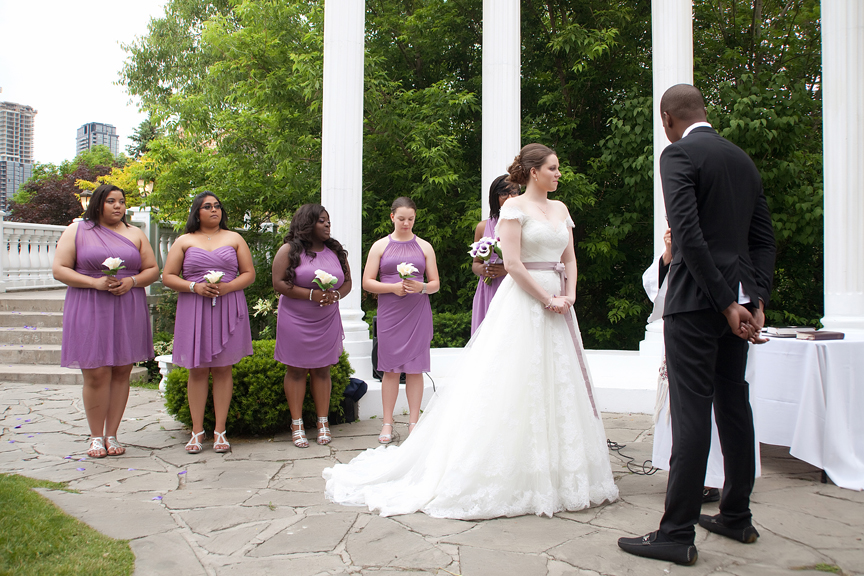 wedding ceremony Paradise Banquet Hall