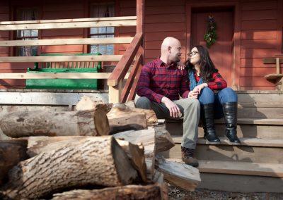 engagement shoot Black Creek Pioneer Village