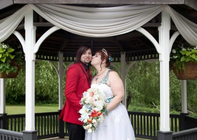 wedding portrait at Carls Catering The Glen