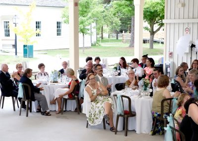 wedding reception Black Creek Pioneer Village