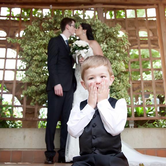 wedding portrait kid