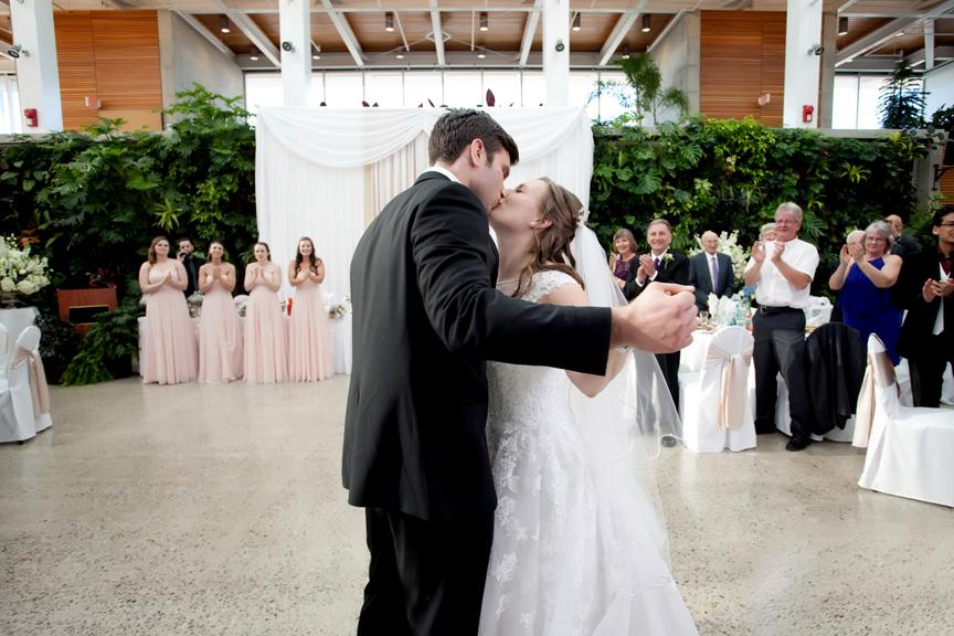 Royal Botanical Gardens wedding reception