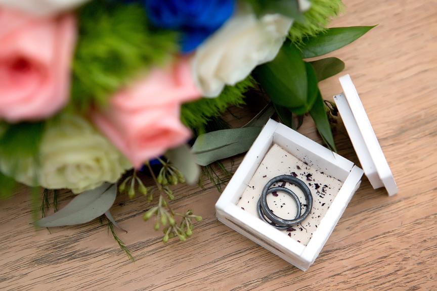 Wedding rings at Toronto City Hall