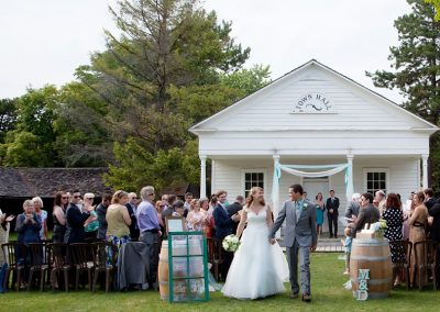wedding ceremony Black Creek Pioneer Village