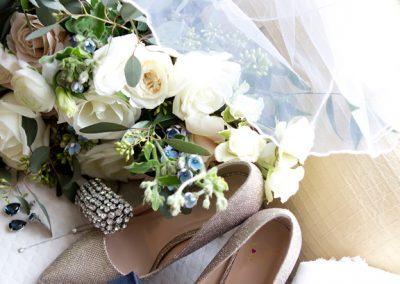Wedding details at Paletta Mansion