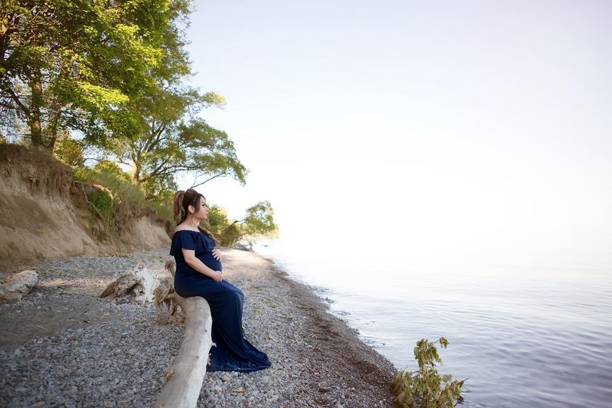 Maternity Photos at Rotary Park