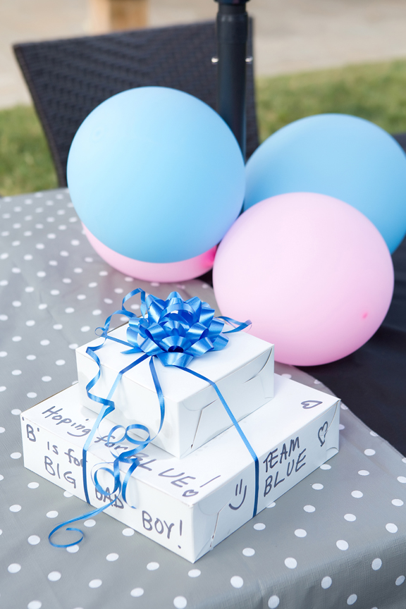 gender reveal COVID friendly event