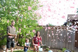 Milestone Event Photography gender reveal COVID friendly event