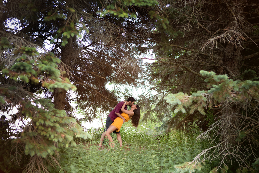 Scarborough Bluffs engagement shoot