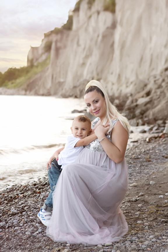 Family portrait Scarborough Bluffs