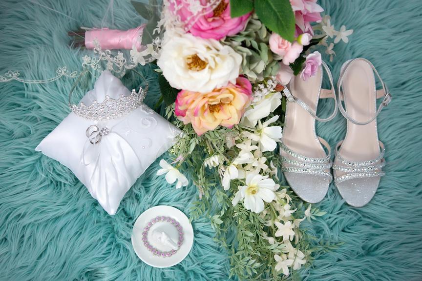 Bride prep COVID-19