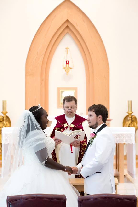 Wedding Ceremony COVID-19 at Guardian Angels Parish