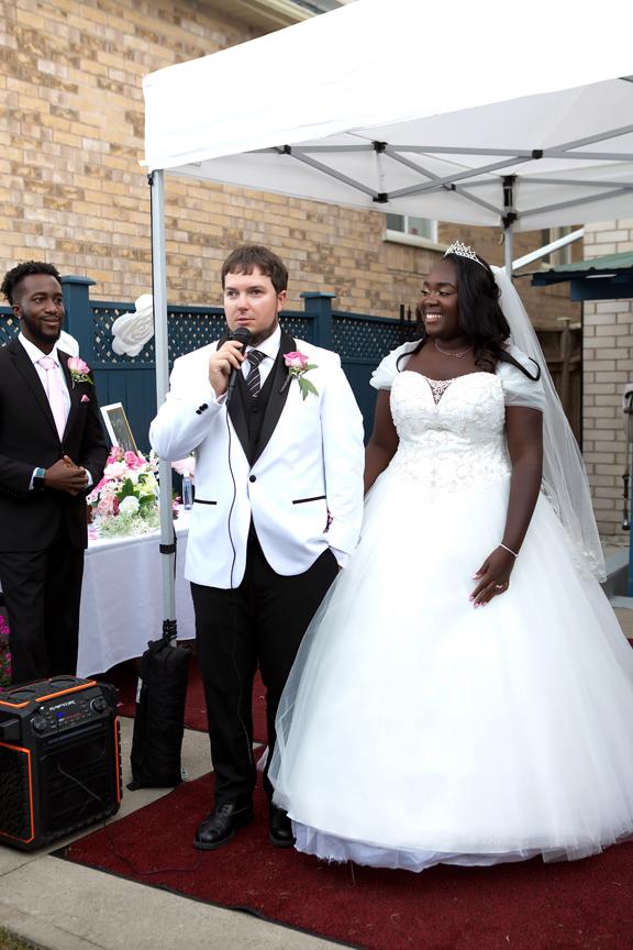 Wedding reception speech