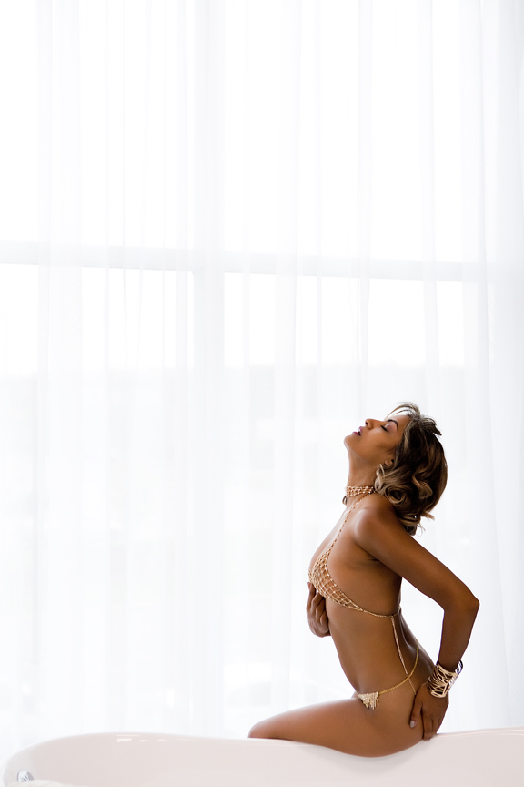 boudoir session Glasshouse Studios