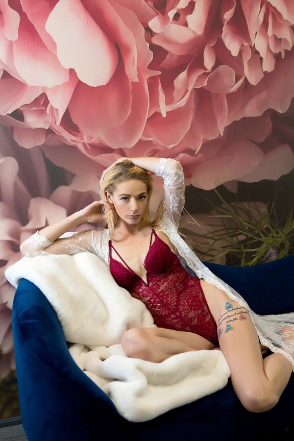 lingerie portrait studio