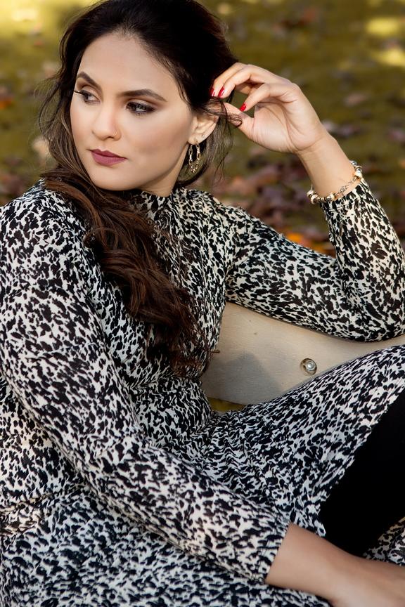 Fashion portrait model portfolio