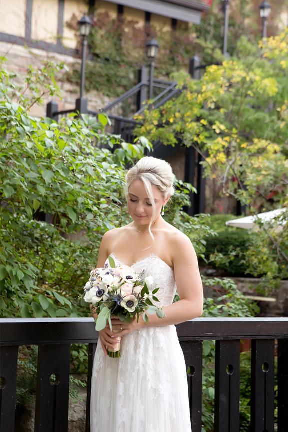 Bride Wedding Portraits at Old Mill Toronto