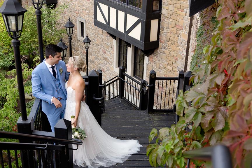 Wedding Portraits at Old Mill Toronto
