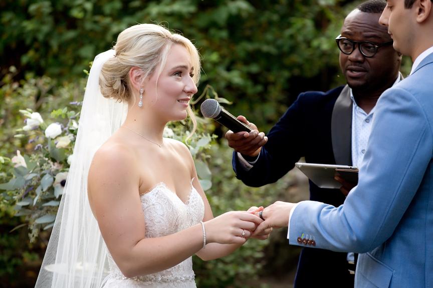 ring exchange wedding ceremony