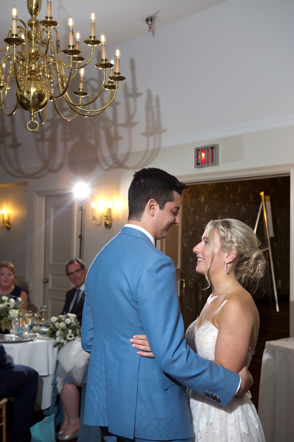 couple dance wedding reception