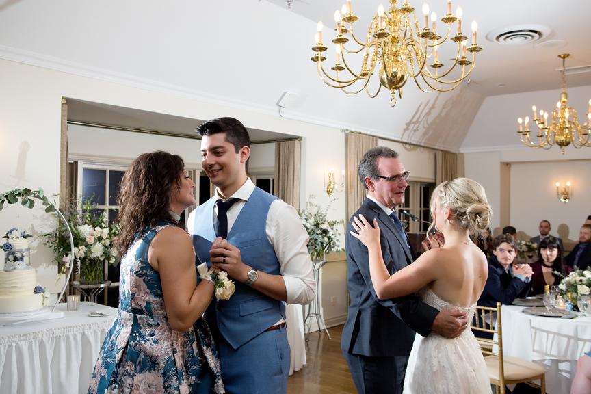 parent dances wedding reception