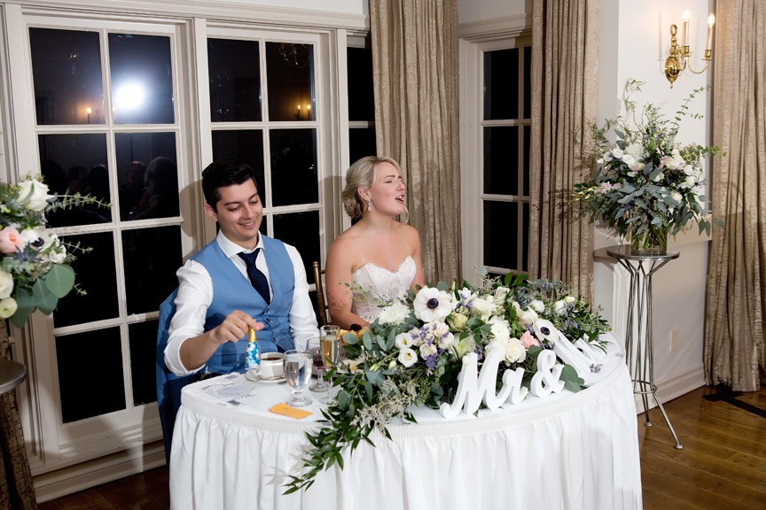 sing along wedding reception