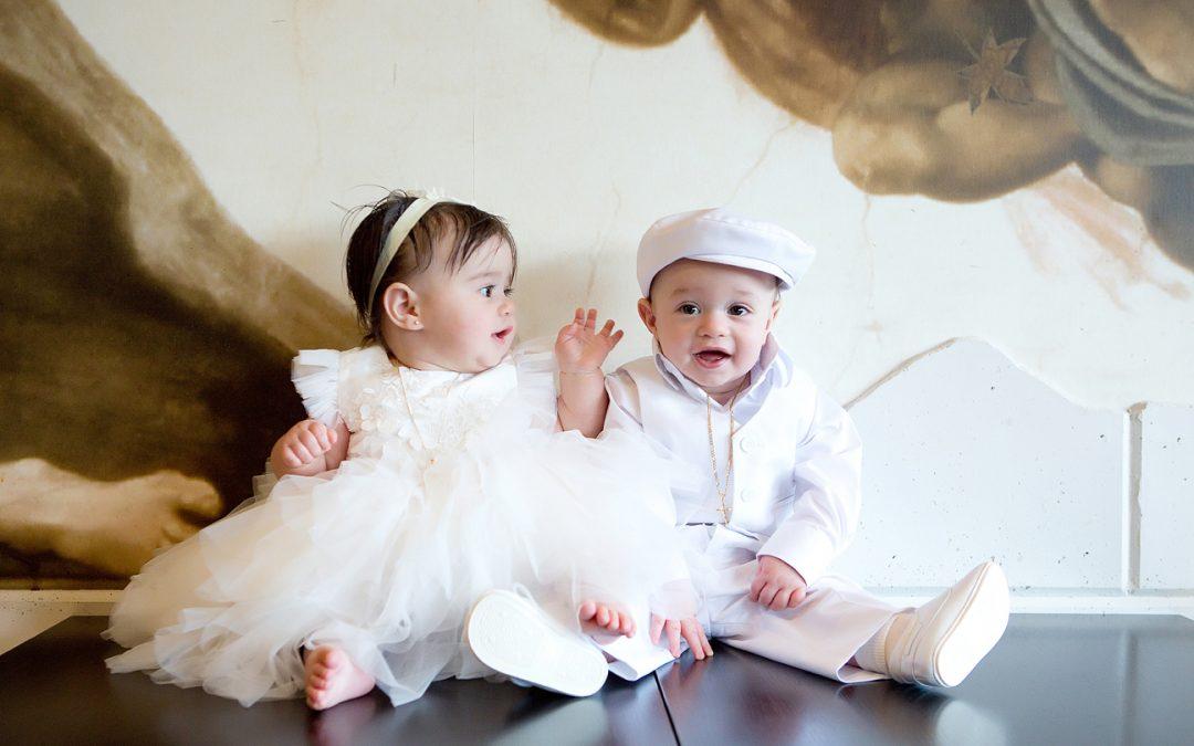 Alekos & Athena Baptism